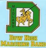 DHS Marching Band decal original