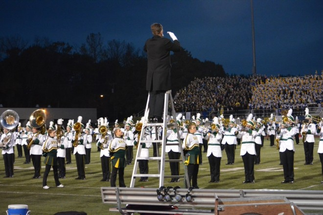 DHS Band Oct232015 National Anthem